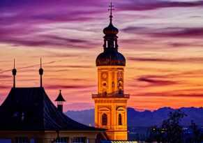 Postkarte-Abendrot-Freising-klein